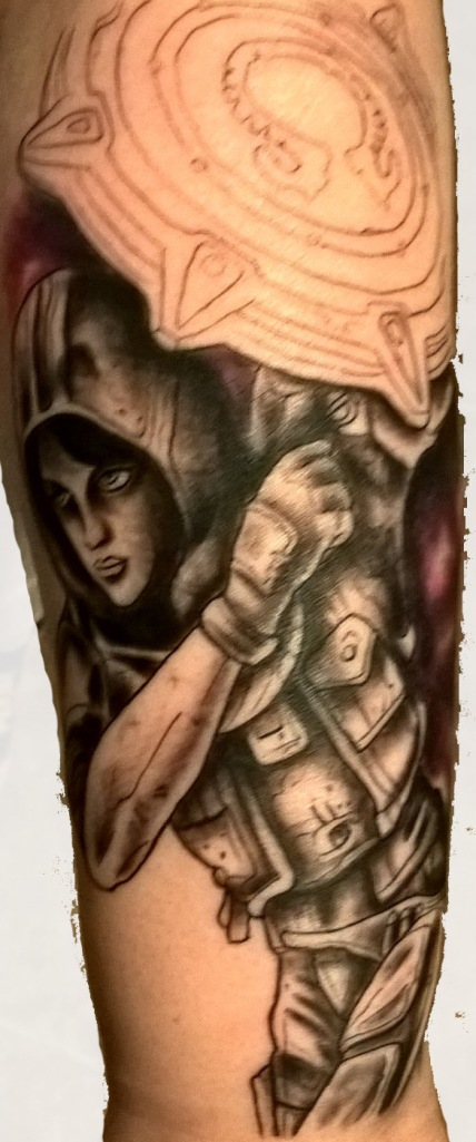 Athena Tattoo - Session 1